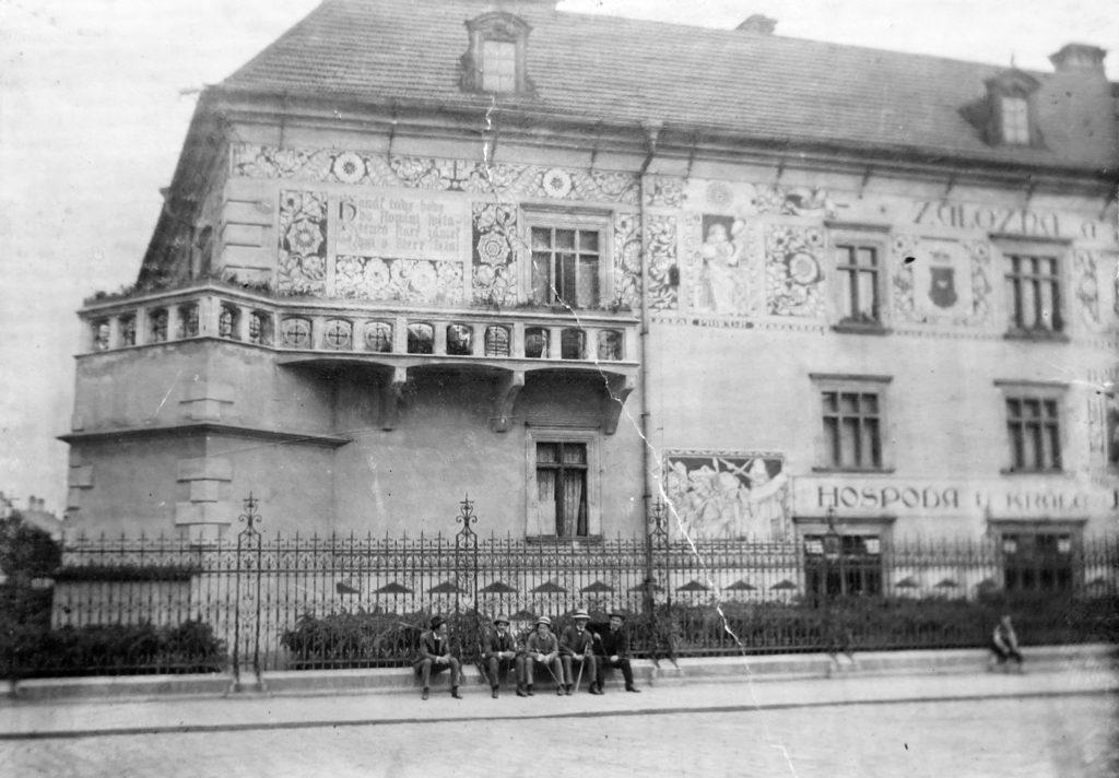 Fotografie z literárního fondu Jaroslava Haška v Památníku nár. písemnictví